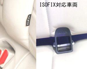 チャイルドシート固定方法ISOFIX