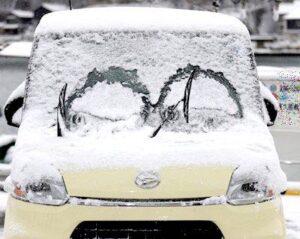 軽自動車冬支度